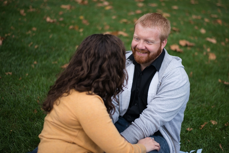 ohio state engagement session