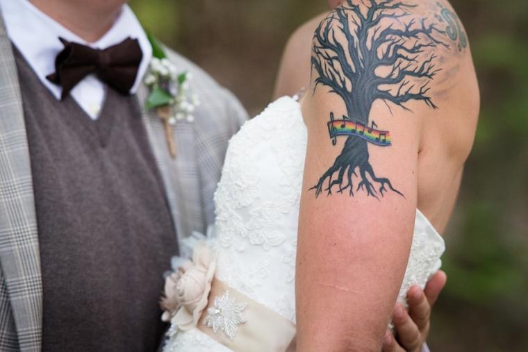 camp kern wedding
