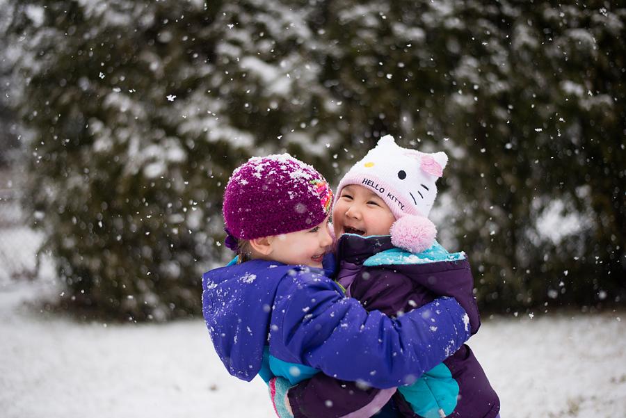 winter adventure columbus ohio family photographer