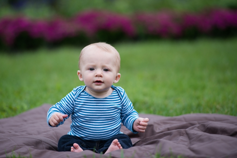 central ohio baby's first year photographer