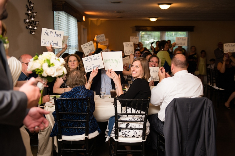 columbus ohio wedding at cheers