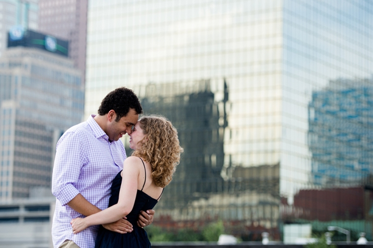 columbus ohio engagement session at 16 bit